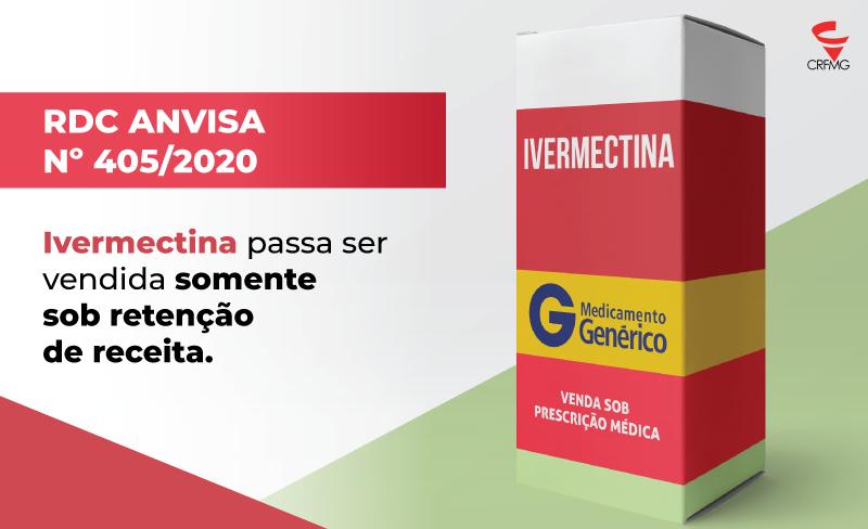 Ivermectina agora passa ser vendida sob retenção de receita